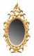 A8 Small George III Chippendale Oval Mirror