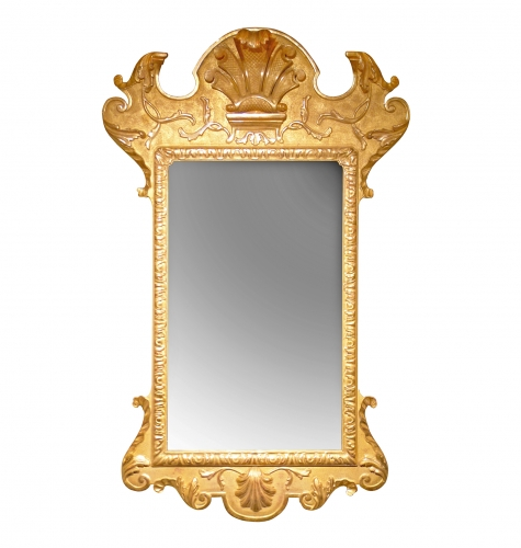 A38 George I Gesso Pier Mirror Gilt