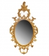 A51 George III Chippendale Oval Mirror