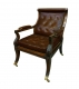 A67 Regency Library Armchair
