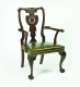A91 Irish Chippendale Dining Chair