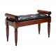 A250 Regency Scroll Top Hall Bench
