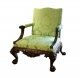 A133 George II Library Chair